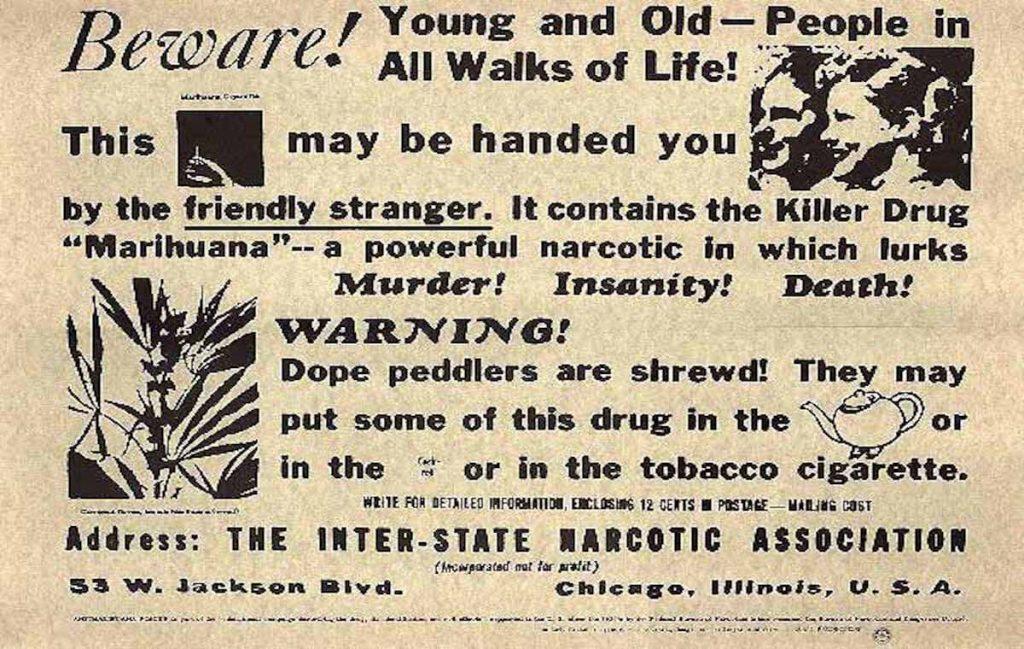 Запрет конопли в США