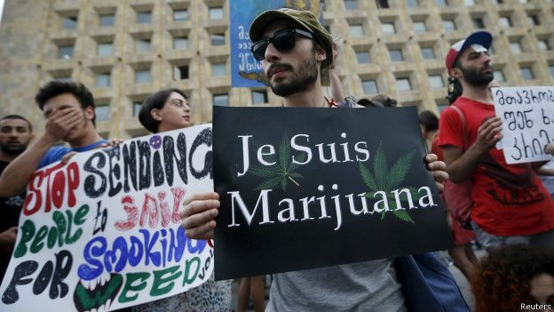 Митинг за легализацию марихуаны