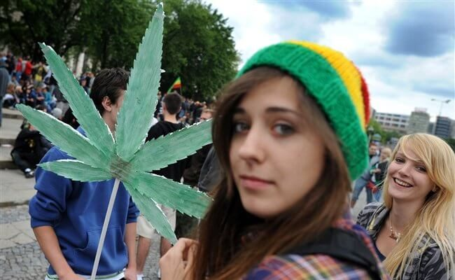 марихуана в польше